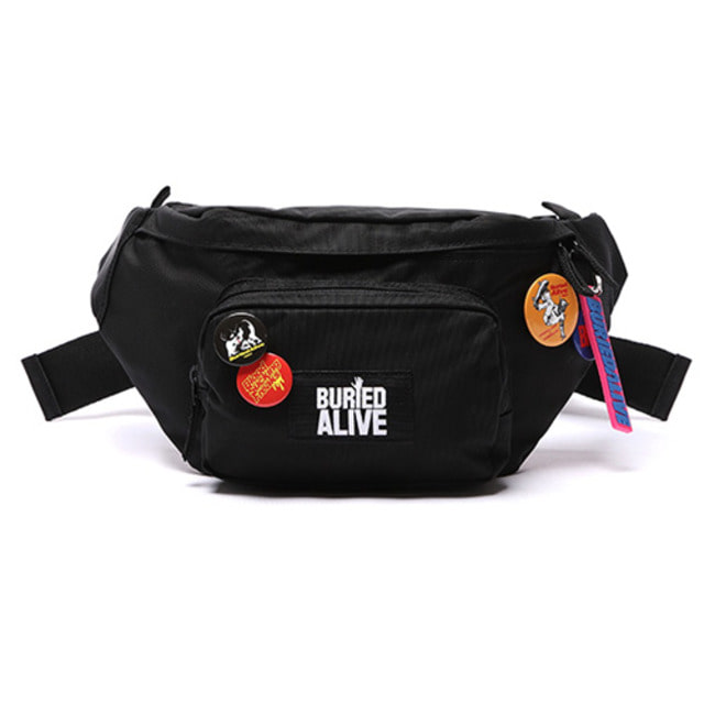 [BURIEDALIVE] BA CLASSIC LOGO RUN WAIST BAG