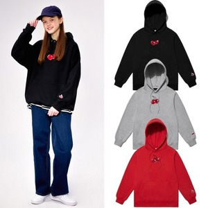 [KIRSH] MIDDLE CHERRY HOODIE IS 3COLORS