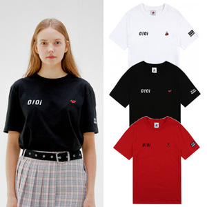 [O!Oi X KIRSH] LOGO T-SHIRTS 3COLORS