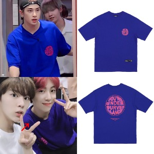 [RDVZ] CIRCLE LOGO T-SHIRTS PURPLE_X1