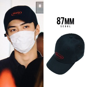 [87MM] MMLG BALLCAP NAVY_EXO