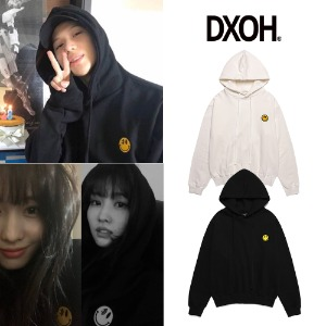 [DXOH] DXOH SMILE PATCH HOODIE 2COLOR_SHINee