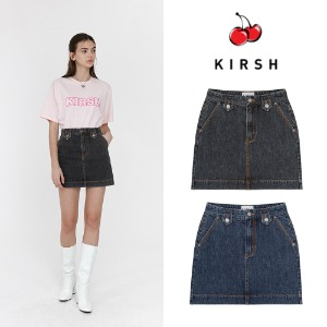 [KIRSH] KIRSH RETRO DENIM SKIRT JH 2COLOR