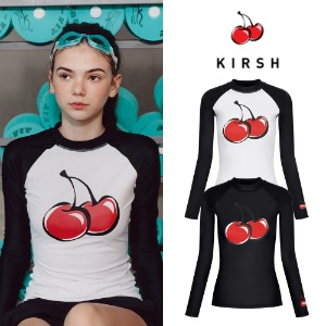 [KIRSH] BIG CHERRY RASHGUARD JH 2COLOR