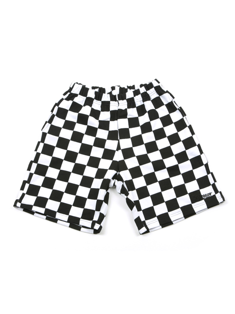 GG Trailer Checkerboard 12 Pants_White