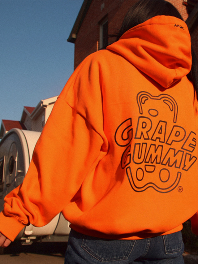 [APOC]Grape Gummy Hoodie Ver.2_Orange