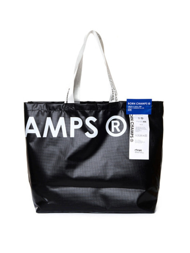 [BORN CHAMPS]BC SHOPPER BAG BLACK CERFMBG04BK