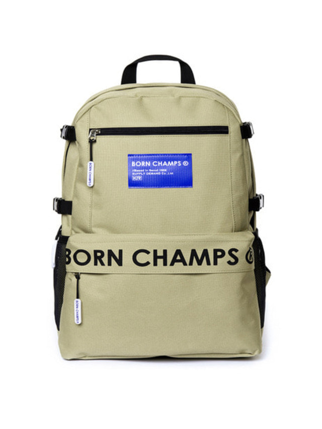 [BORN CHAMPS]BC TIME BACKPACK BEIGE CERFMBG06BE
