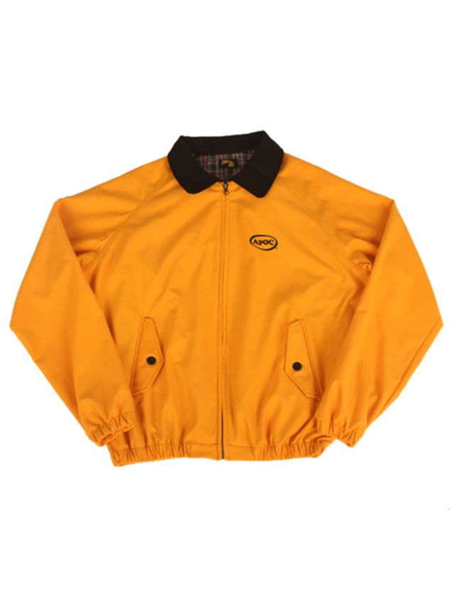 [A PIECE OF CAKE]Oval Logo Blouson_Yellow
