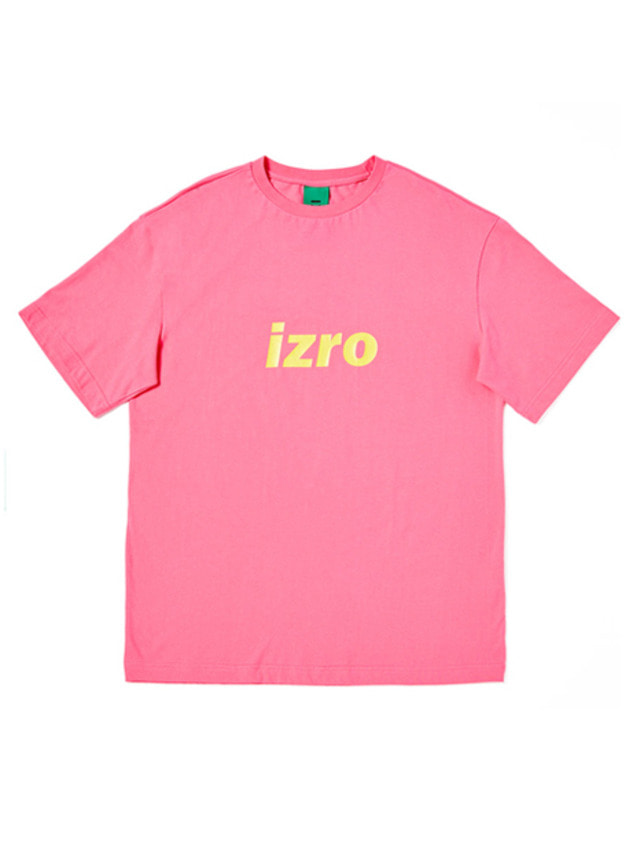 [IZRO]IZRO COLOR T-SHIRTS - PINK