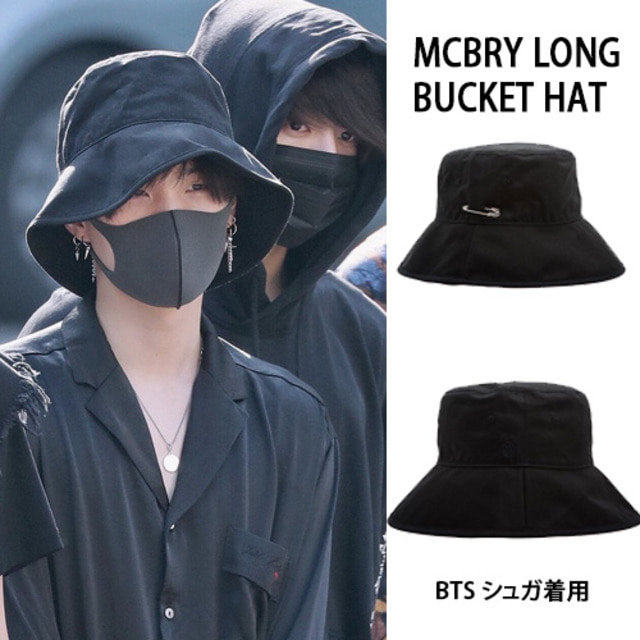 [MACK BARRY] MCBRY LONG BUCKET HAT_BTS_EXO