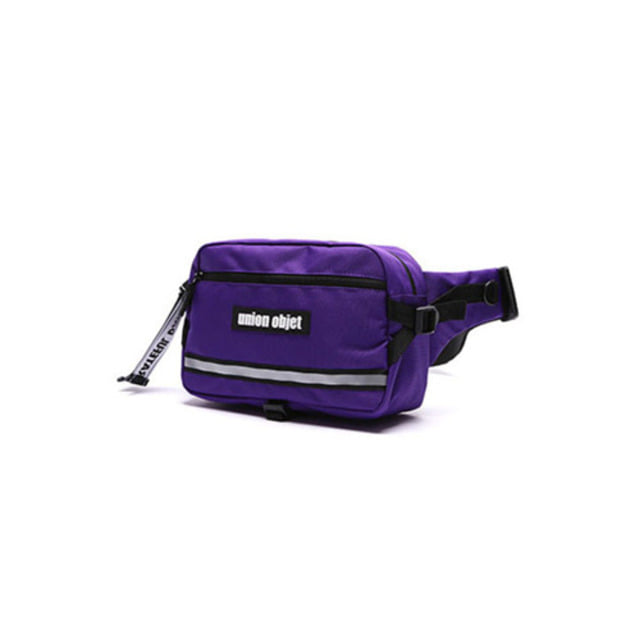 [UNIONOBJET]UNION TECH WAIST BAG PURPLE