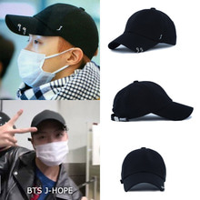 [JOYMENT ]COTTON LOGO J RING BALL CAP(BK)_BTS J-HOPE