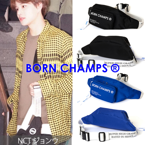 [BORN CHAMPS]BC WAIST BAG 2COLOR_NCT