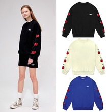 [KIRSH] MIDDLE CHERRY SWEATSHIRT IS 3COLORS