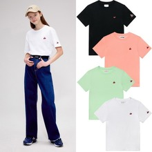 [KIRSH] HEART CHERRY T-SHIRTS IS 4COLORS
