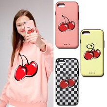 [KIRSH] BIG CHERRY BUMPER PHONE CASE IS 3COLORS