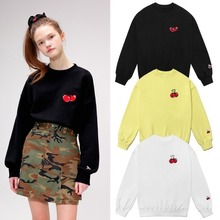 [KIRSH] HEART CHERRY SWEATSHIRT IS 3COLORS_CLC
