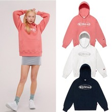 [KIRSH] CIRCLE LOGO HOODIE IS 3COLORS