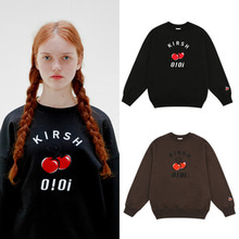 [O!Oi X KIRSH] BIG LOGO SWEATSHIRT 2COLORS