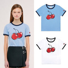[KIRSH] BIG RINGER CHERRY RINGER TEE IS 2COLORS