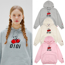 [O!Oi X KIRSH] BIG LOGO HOODIE 3COLORS
