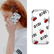[O!Oi X KIRSH] LOGO PATTERN BUMPER PHONE CASE