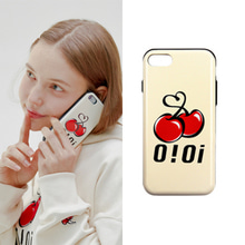 [O!Oi X KIRSH] BIG LOGO BUMPER PHONE CASE