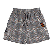 [ROMANTICCROWN] E.D.V SHORT CHECK PANTS BLACK