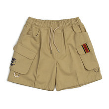 [ROMANTICCROWN] E.D.V CARGO SHORT PANTS BEIGE