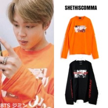 [SHETHISCOMMA] NEW GOOD DAY T (OVER SLEEVE)_BTS SEVENTEEN GOT7