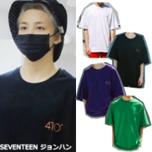 9/18予約配送 [SEARCH410] INCH OVER T 4COLOR_SEVENTEEN NCT
