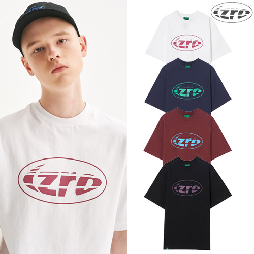 [IZRO] IZRO RUGBY BALL TEE 4COLOR