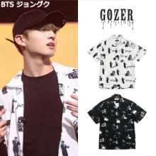 [GOZER] GOZER JAZZ CLUB SHIRT 2COLOR_BTS