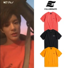 [FILLUMINATE] UNISEX KINGSTON LOGO ROUND TEE 3COLOR_NCT
