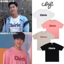 [CLIF] CHERIE TEE 4COLOR_東方神起_MONSTA X_ITZY_ASTRO