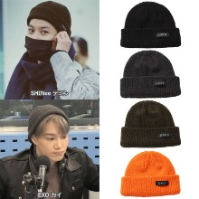 [DXOH] LOGO BEANIE 4COLOR_EXO_TWICE_SHINEE_PRODUCEX