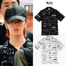 [NII] OPEN COLLAR LETTERING SHIRT_NCT