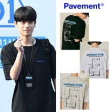 [PAVEMENT] PAVEMENT STORE SHORT SLEEVE IS 3COLOR_PRODUCE X 101