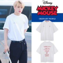 [DISNEYxORDINARY PEOPLE] OH MY GOOFY WHITE T-SHIRT_NCT