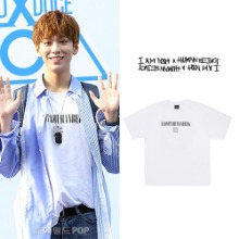 [IAMNOTAHUMANBEING] INTERNATIONAL TEE WHITE_PRODUCEX101トニー