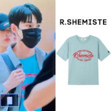 [RSHEMIST] OVAL LOGO TOP MINT_NCT