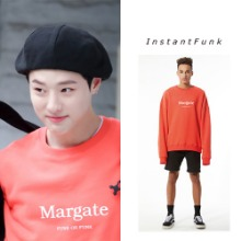 [INSTANTFUNK] MARGATE SWEATSHIRT 4COLOR_PRODUCEX