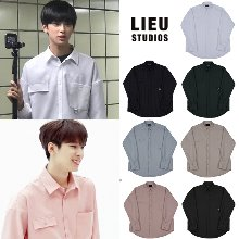 [LIEU]CUFFS D RING SHIRT_PRODUCE X_SEVENTEEN