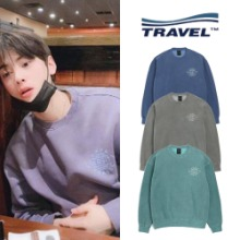 [TRAVEL] CAMP VARSITY PIGMENT SWEATSHIRT_ASTRO