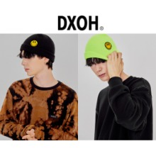 [DXOH] YELLOW SMILE BEANIE 2COLOR