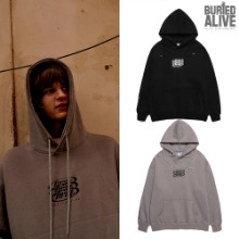 [BURIEDALIVE] BA G.CIRCLE LOGO HOOD 2COLOR