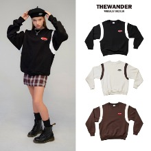 [THE WANDER] 90S RETRO SWEATSHIRT 3COLOR