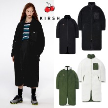 [KIRSH] REVERSIBLE FLEECE LONG JACKET IA 2COLOR