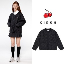 [KIRSH] MIDDLE CHERRY QUILTING PADDING IA BLACK